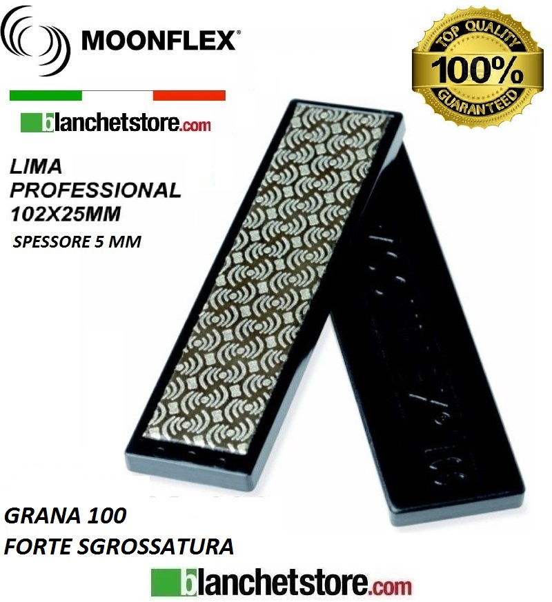 Diaface diamond file mm 100 Grit PVC-100-BLACK
