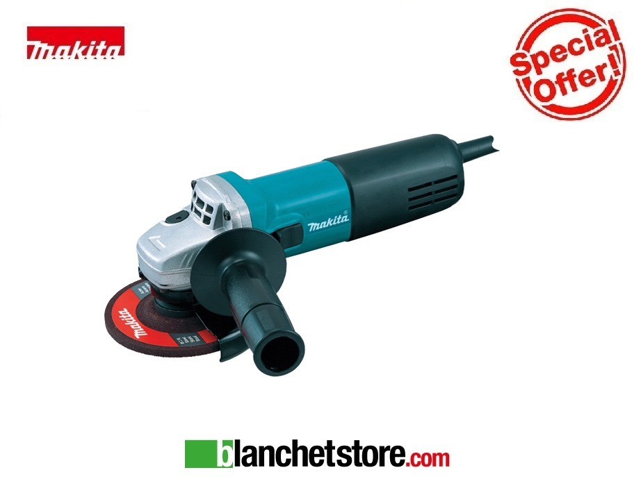 Smeriglitrice angolare Makita 9554 NB 710 Watt d.115 mm
