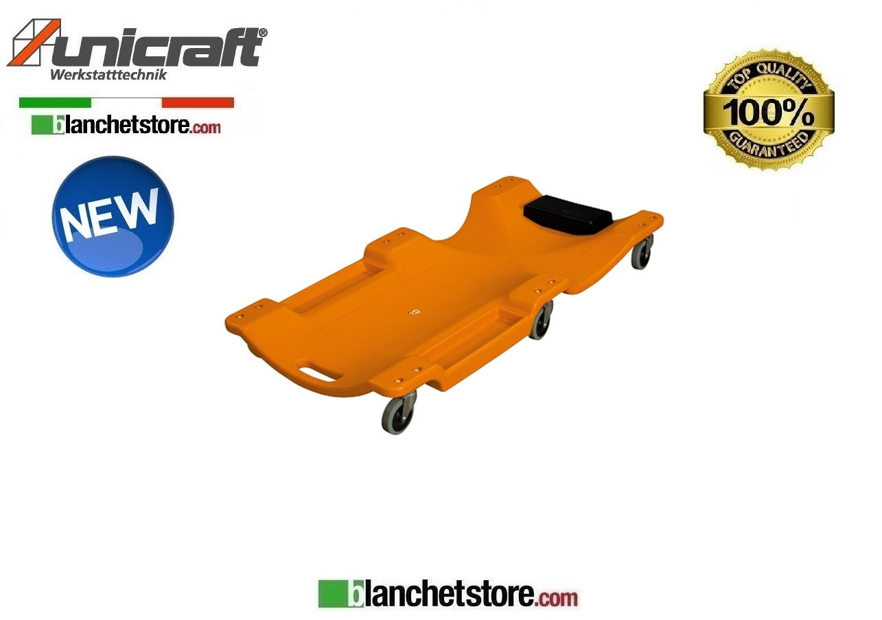 CARRELLINO IN PVC SOTTO AUTO UNICRAFT MRB 40KS