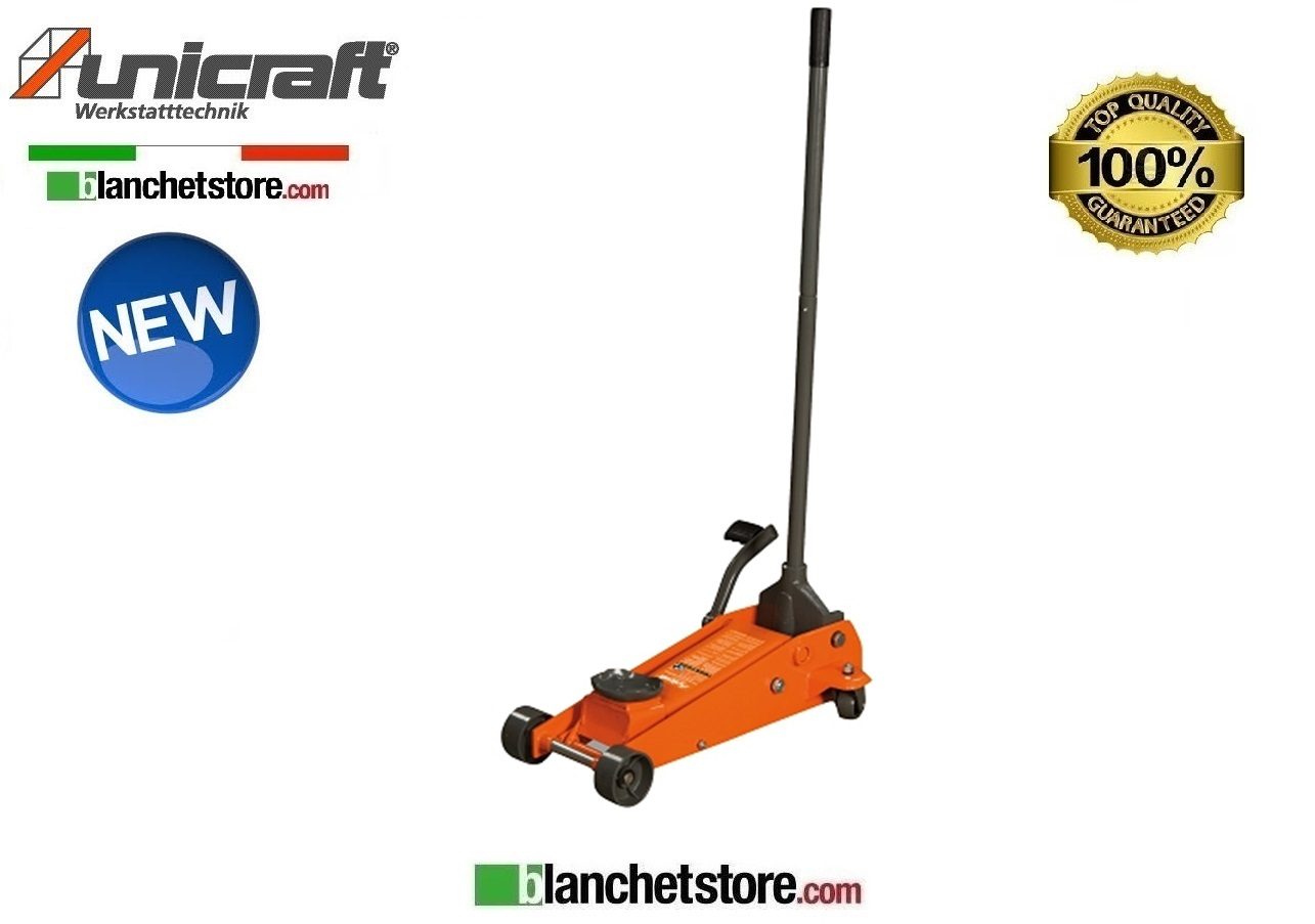 CRIC A CARRELLO UNICRAFT SRWH 3000 PORTATA 3 TON QUICK LIFT