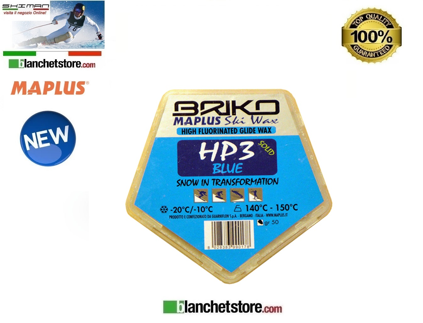 Sciolina MAPLUS HIG FLUO HP 3 Conf 50 gr BLUE