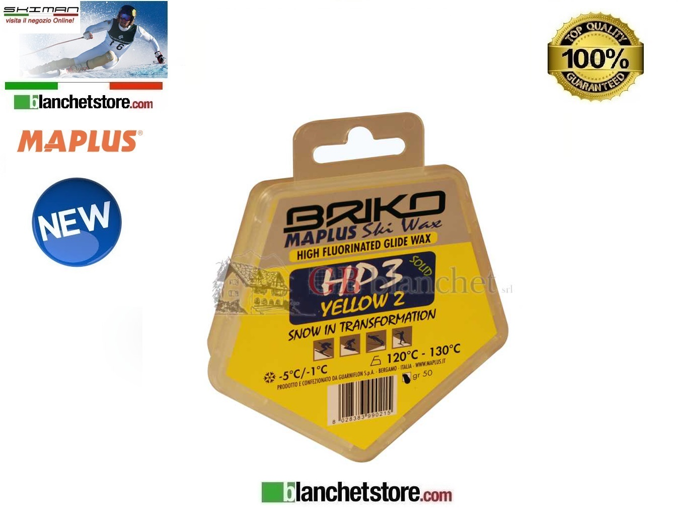 Sciolina MAPLUS HIGH FLUO HP 3 Conf 50 gr YELLOW