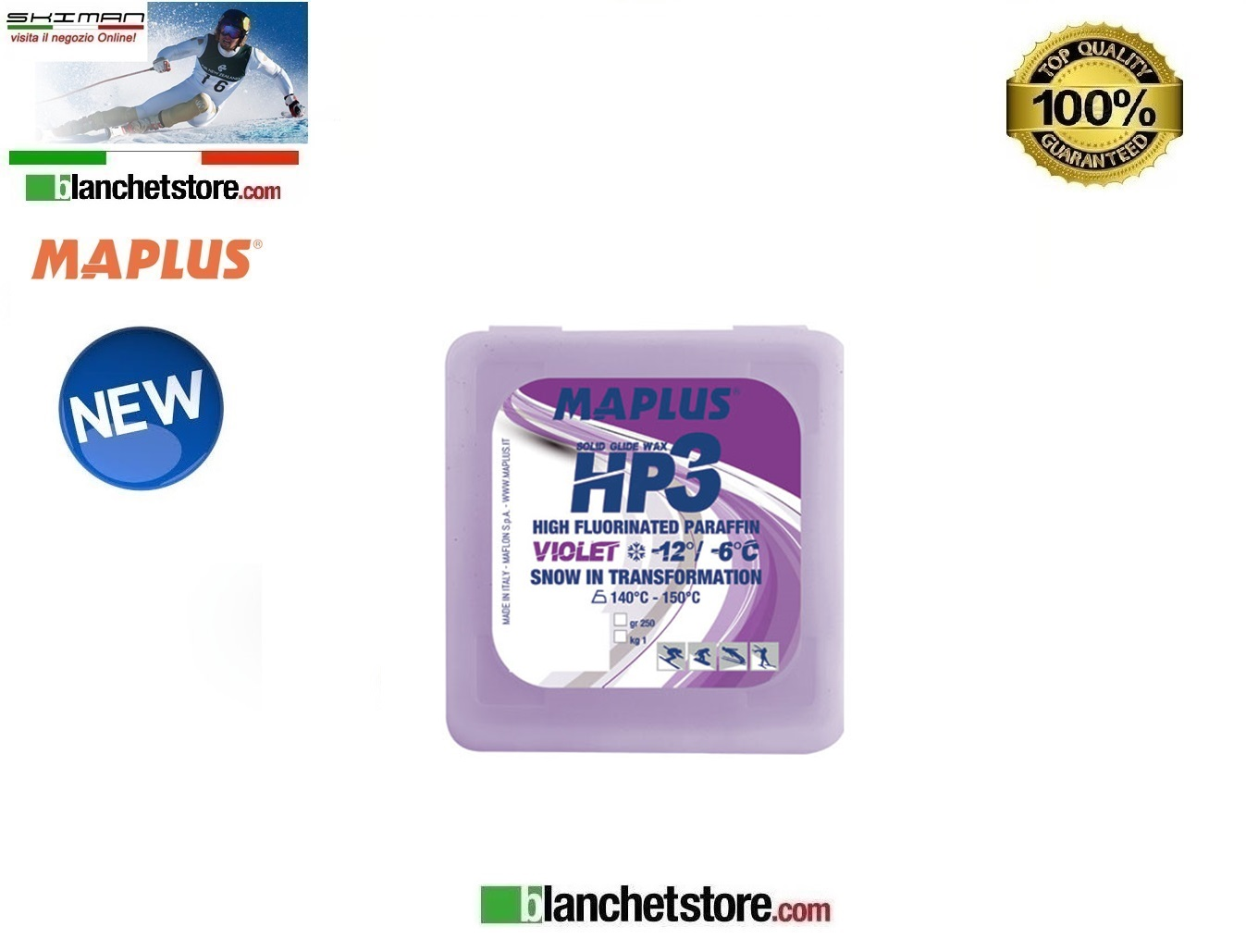 Sciolina MAPLUS HIGH FLUO HP 3 Conf 250 gr VIOLET NEW