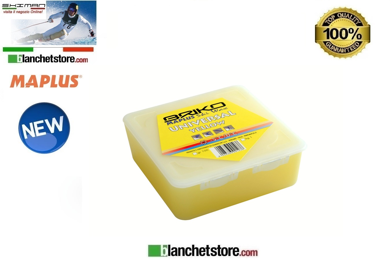Sciolina MAPLUS UNIVERSAL SOLID Conf Gr 250 YELLOW