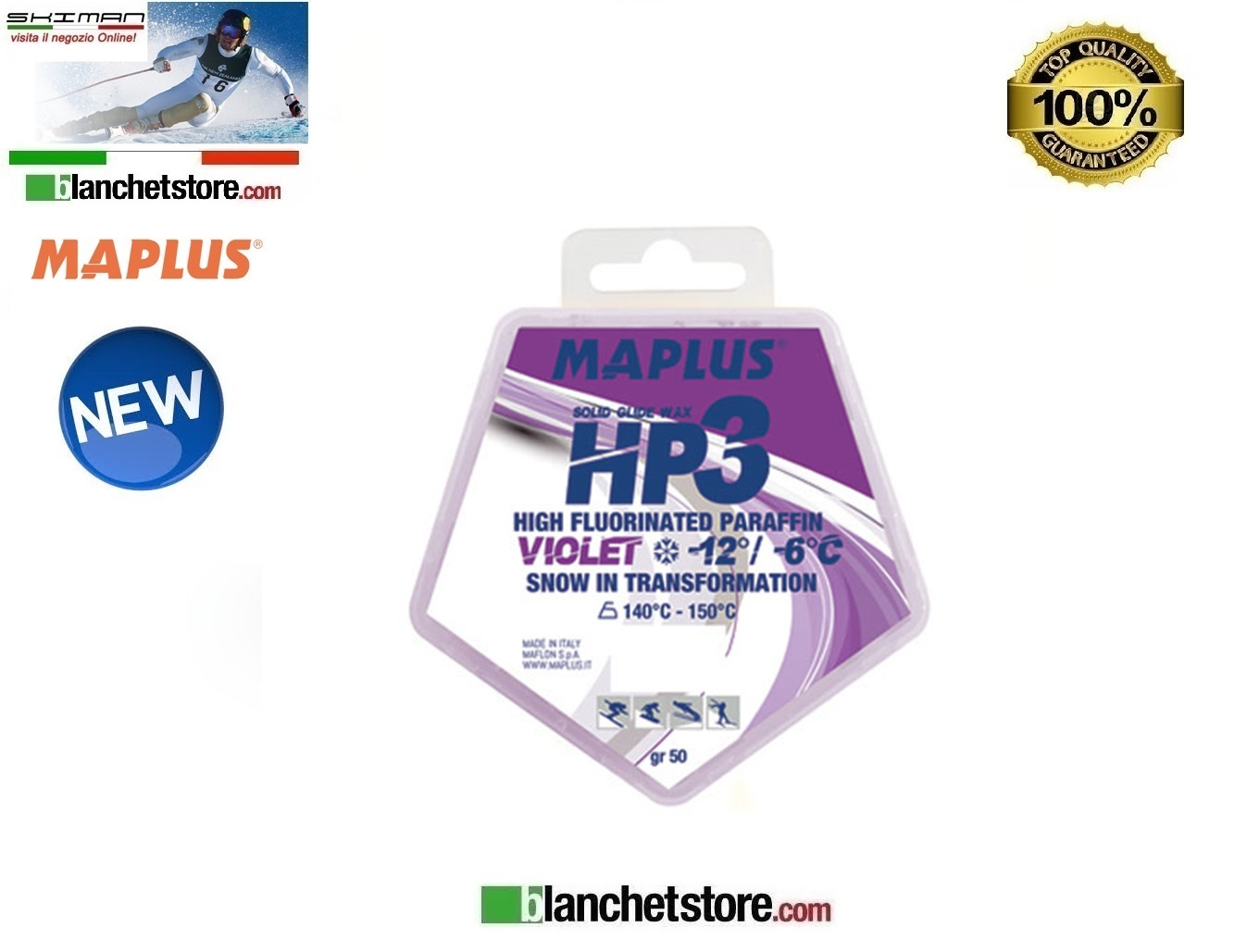 Sciolina MAPLUS HIGH FLUO HP 3 Conf 50 gr VIOLET NEW