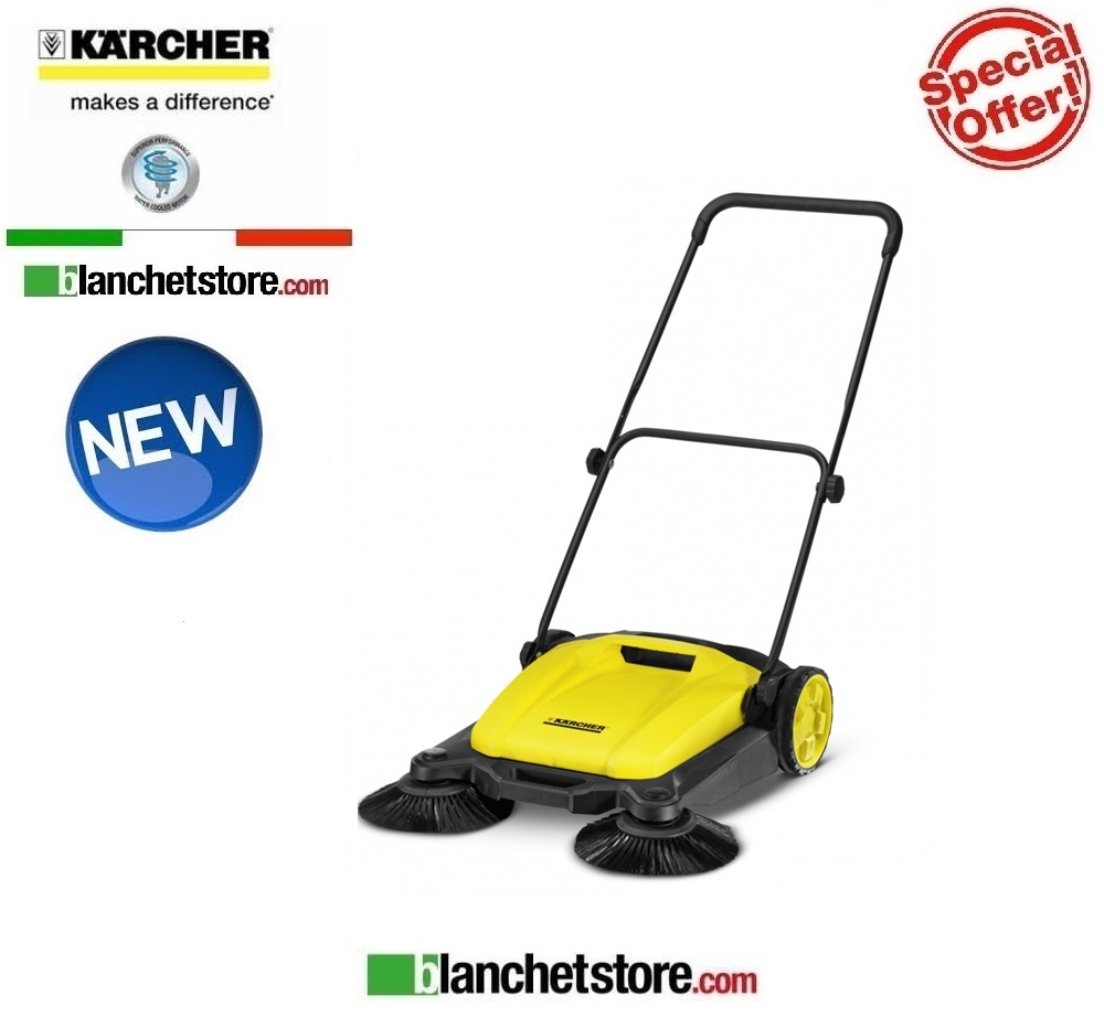 Spazzatrice manuale karcher S 650 NEW MODEL a 2 spazzole