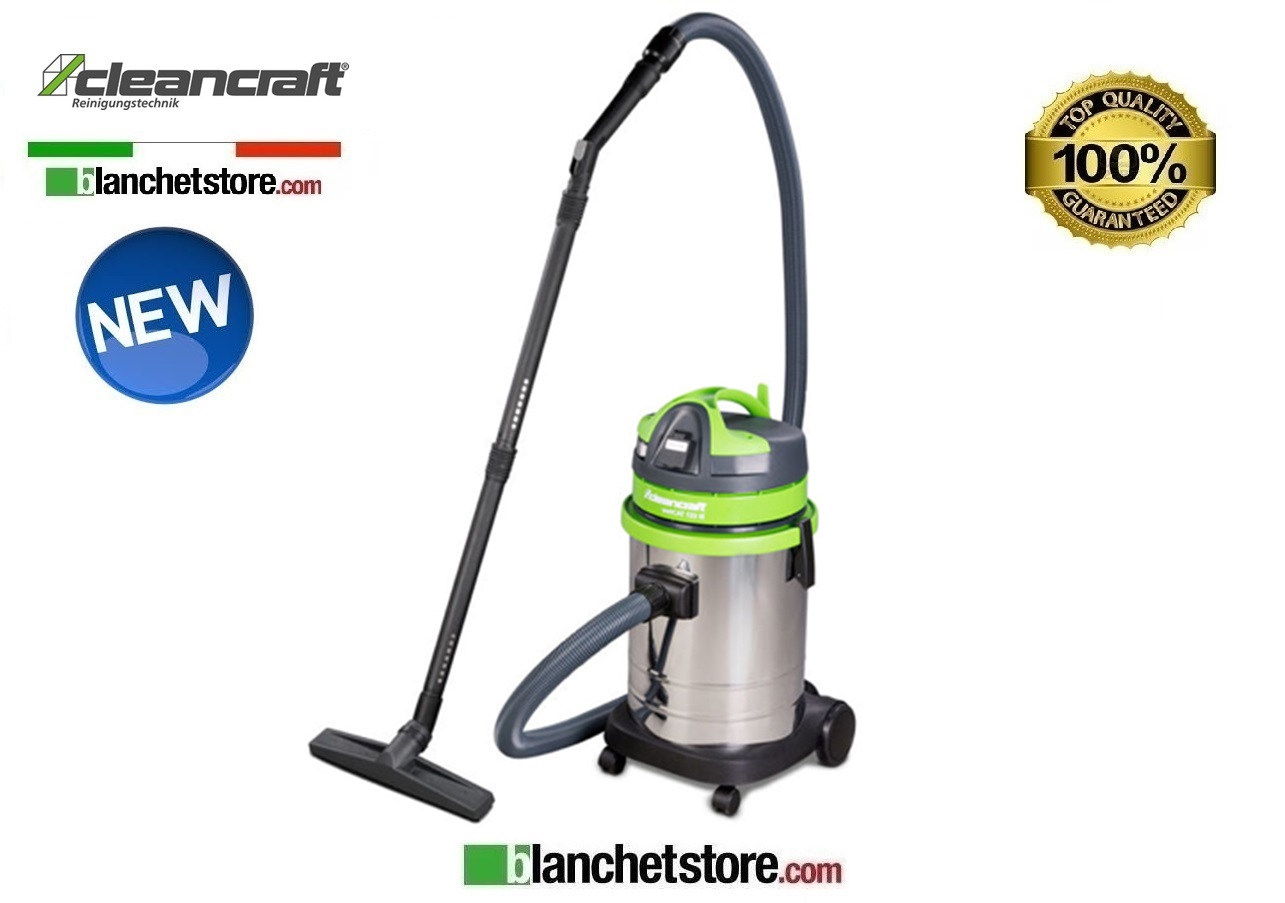 ASPIRAPOLVERE INDUSTRIALE CLEANCRAFT WETCAT 133 IE 1300W