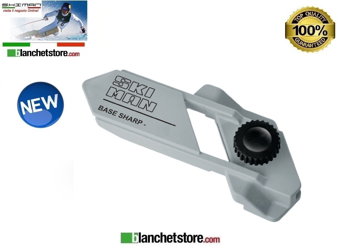 Guida lima per tuning Base sharp Ski man 0,75°