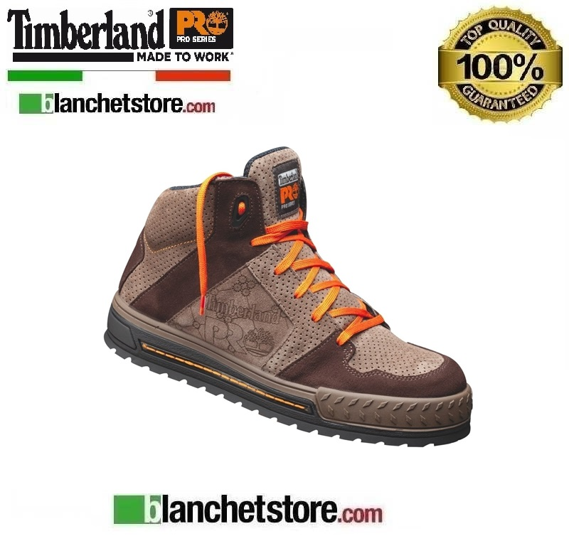 Scarpa antinfortunistica Timberland Pro Shelton Brown N. 40