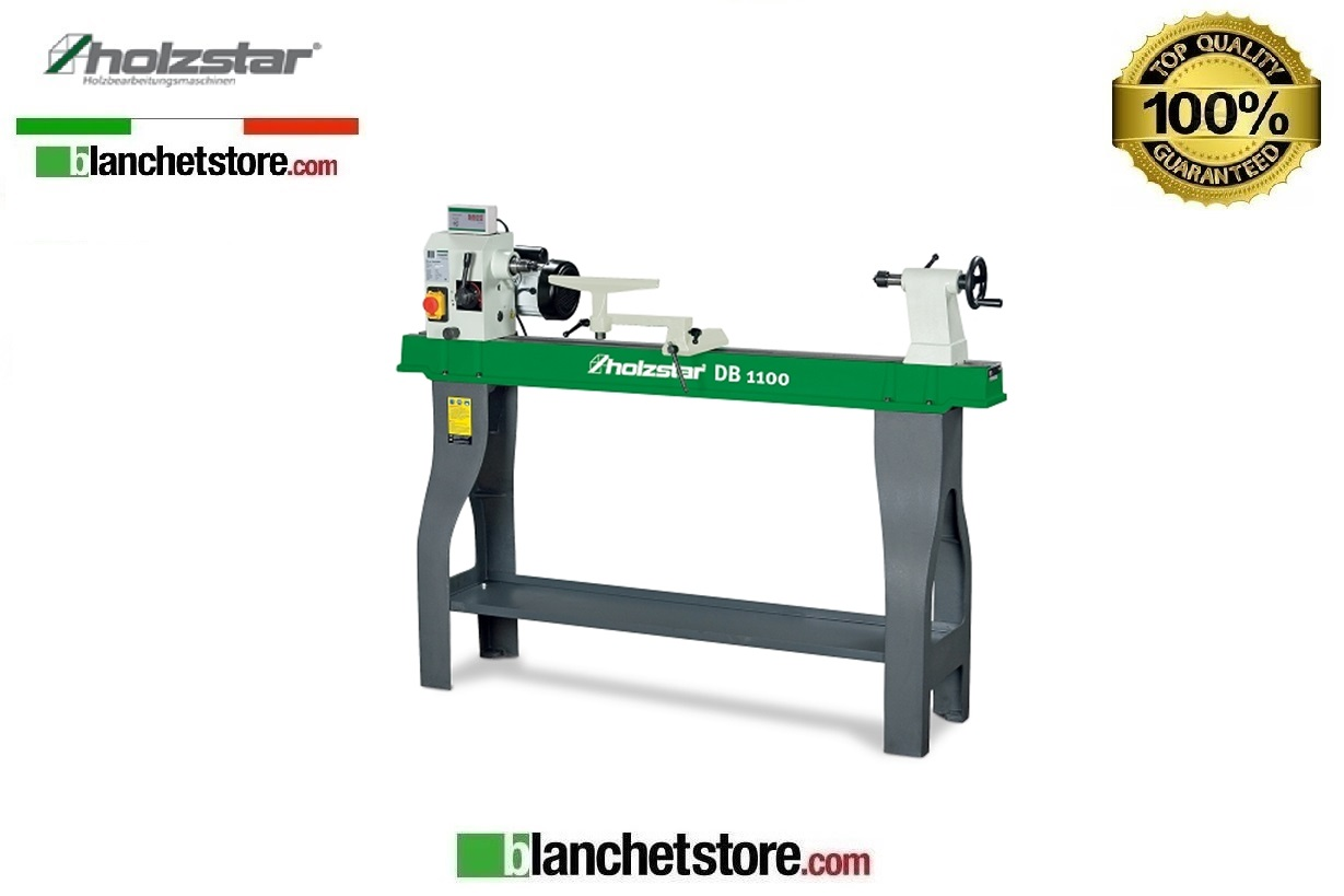 Tornio per legno holzstar db 1100 230v 750watt 1100mm for Tornio usato 220 volt