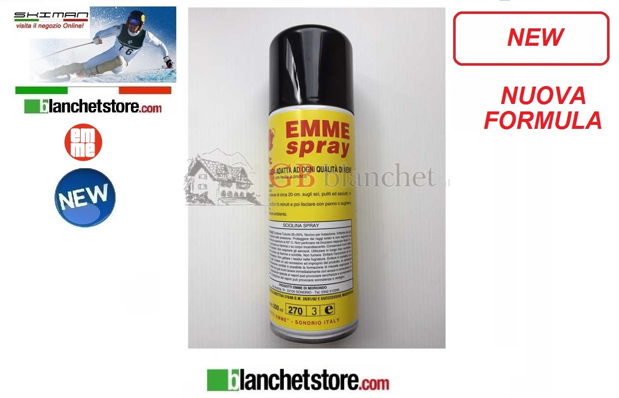 Sciolina EMME Spray Universale ML 200
