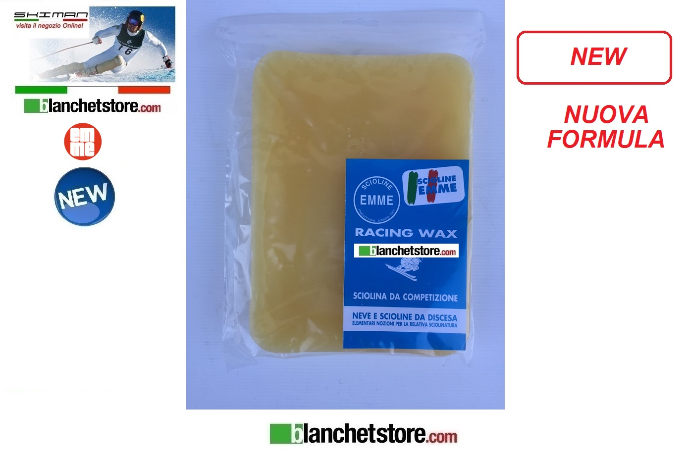 Wax EMME Racing Kg 1 Yellow New