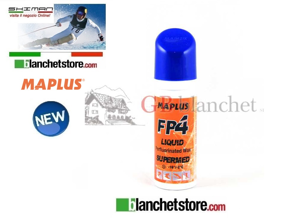 Sciolina MAPLUS PERFLUOTATO SPRAY FP 4 GR 50 ORANGE