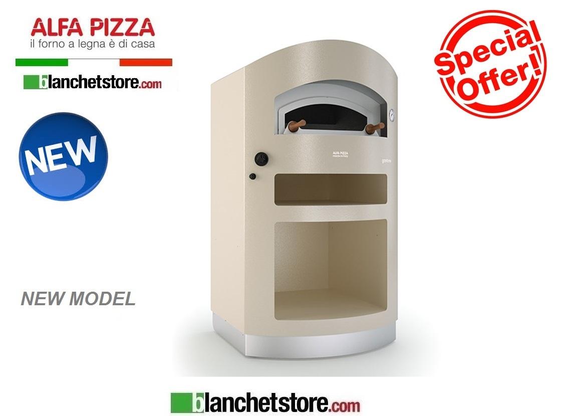 Forno a gas alfapizza mod gastone gas acciaio inox 4 pizze for Forno a gas