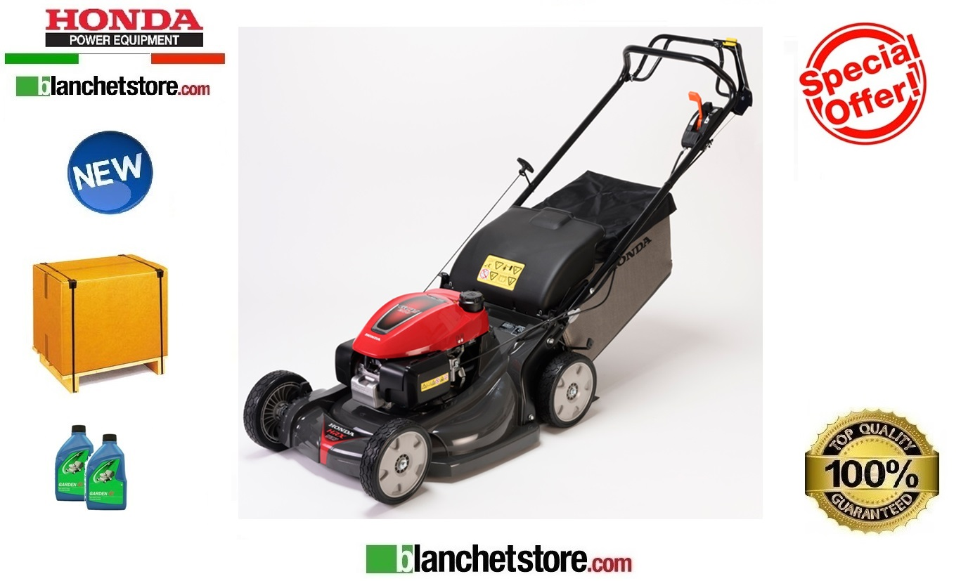 Lawn mowers Honda HRX 537 C2 HY EA GCVX 200 Sel propelled New