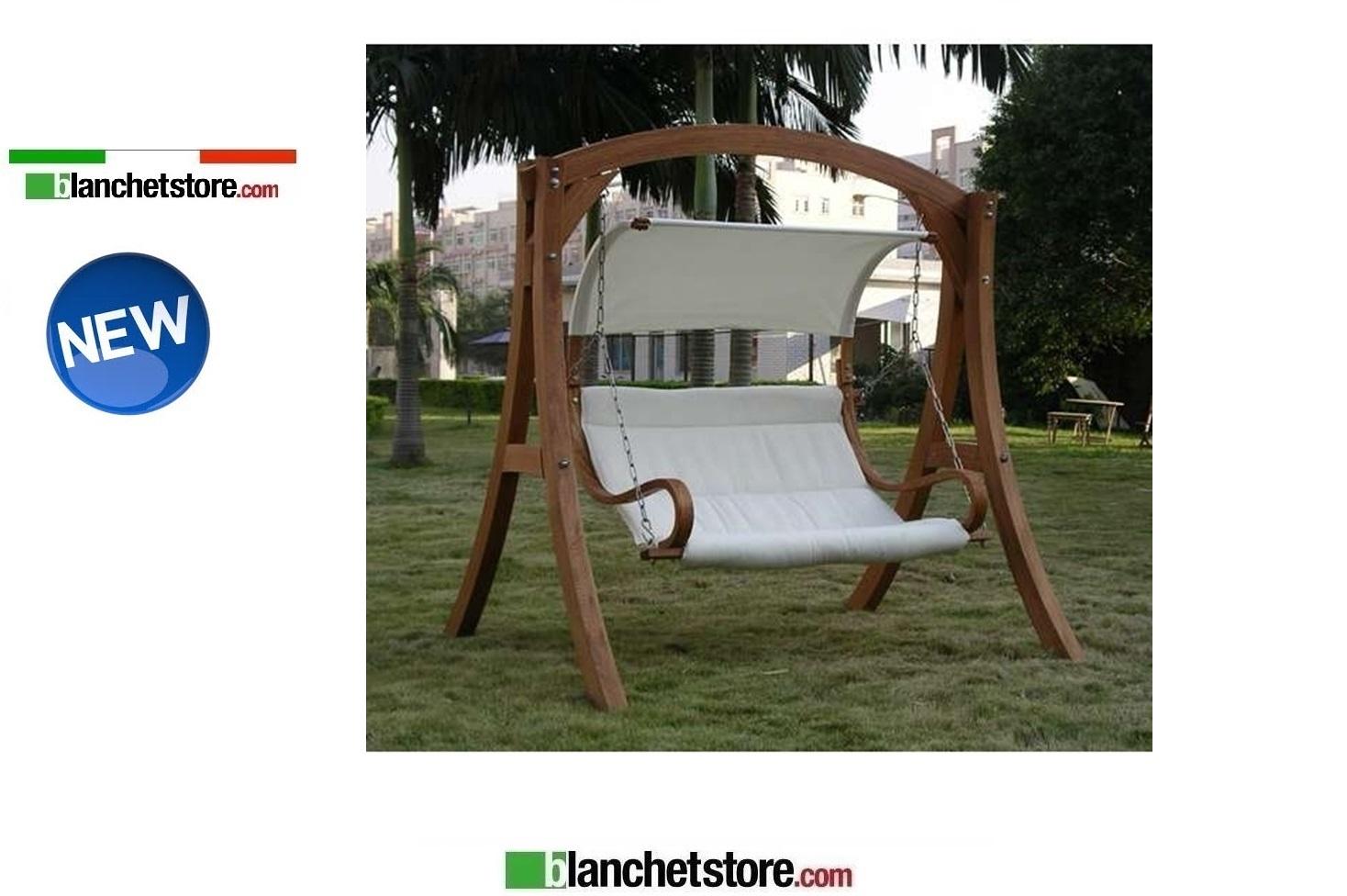 Dondolo Da Giardino In Legno : Dondolo da giardino 2 posti mod.salemi in legno larice 329.00eur