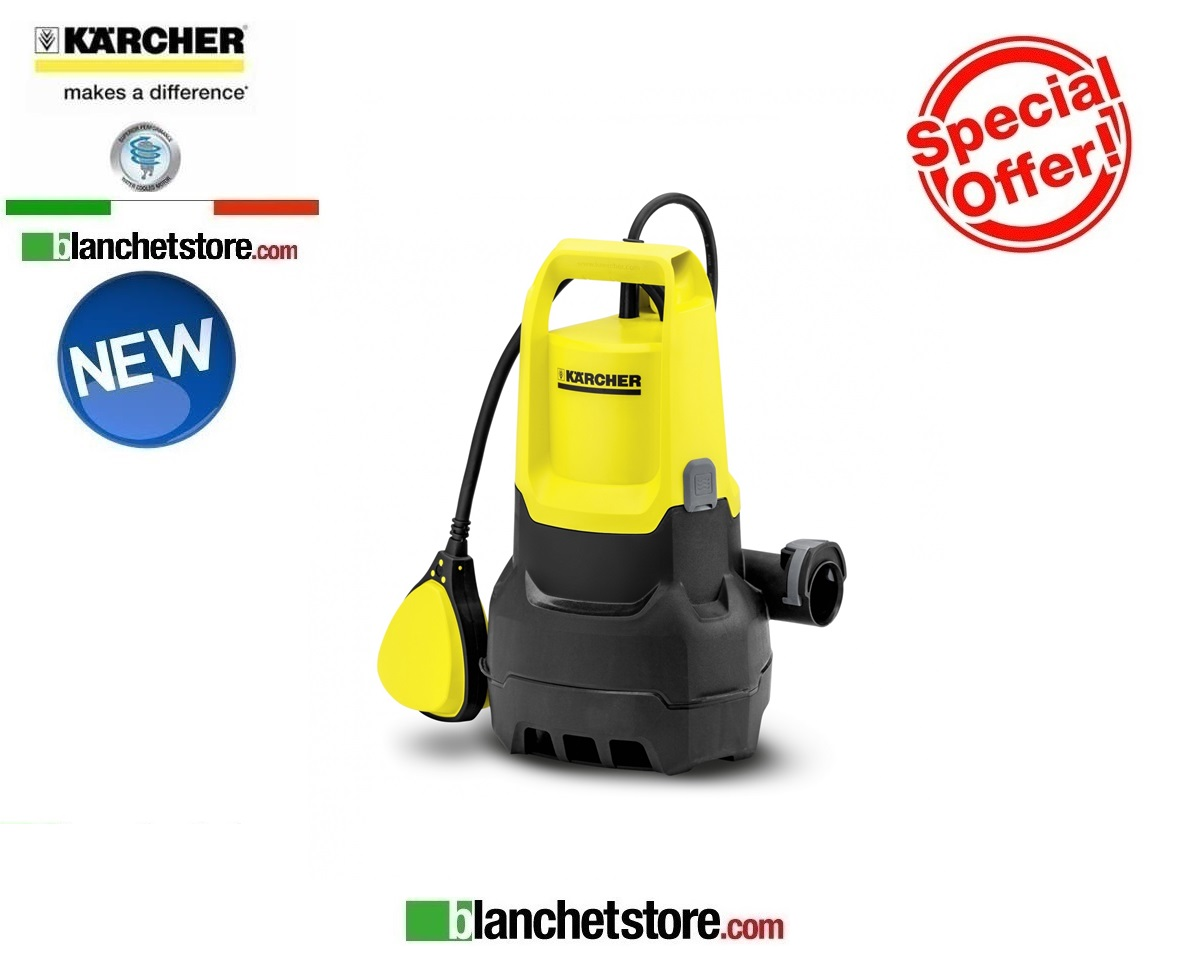 Elettropompa pompa karcher SP 1 Dirt Acque scure 250W 220 volt