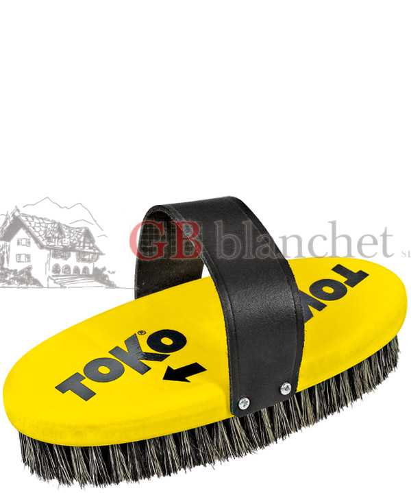 Brush oval for ski and snow Toko STEEL