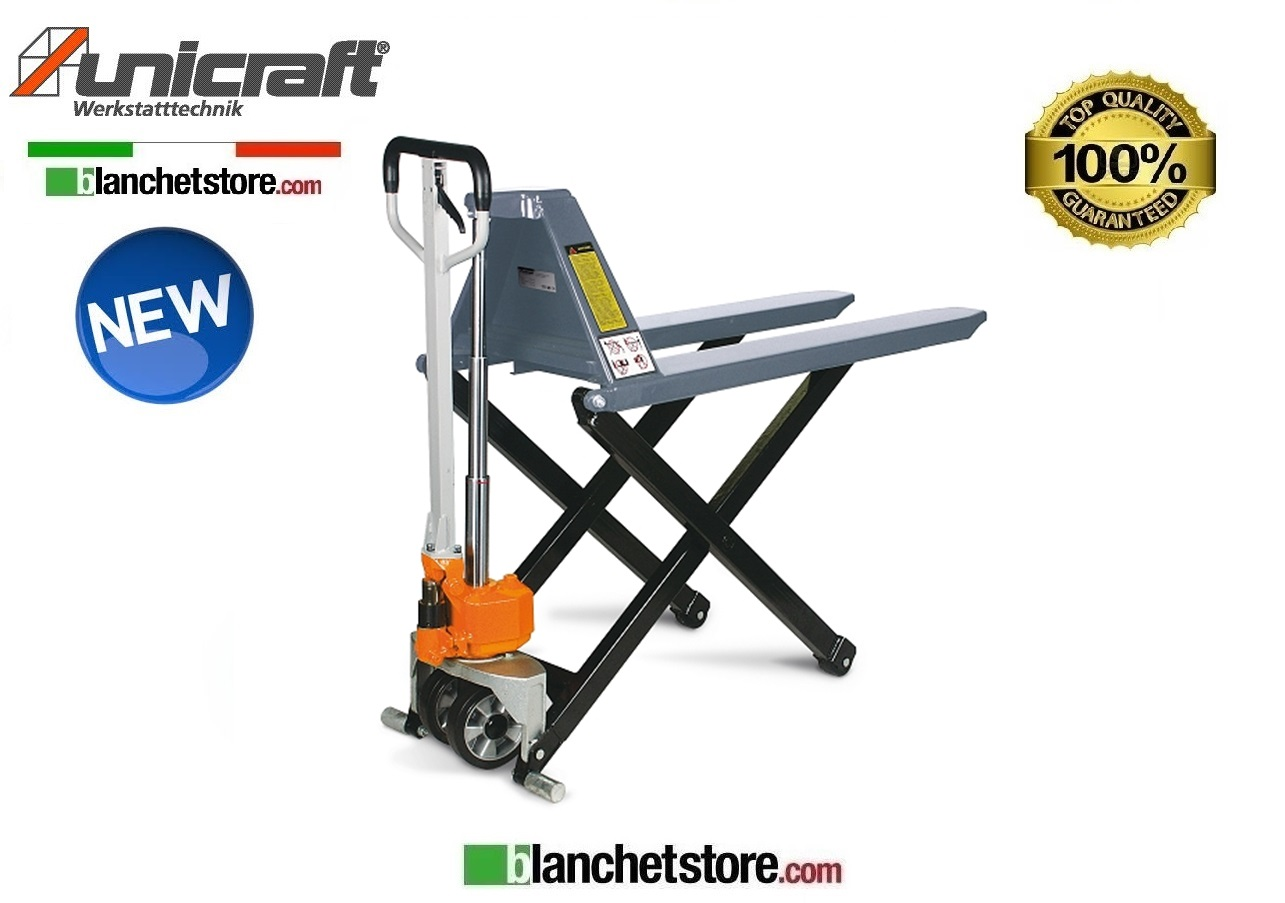 TRANSPALLET A PANTOGRAFO UNICRAFT PHH 1001 forca1150MM 1TON