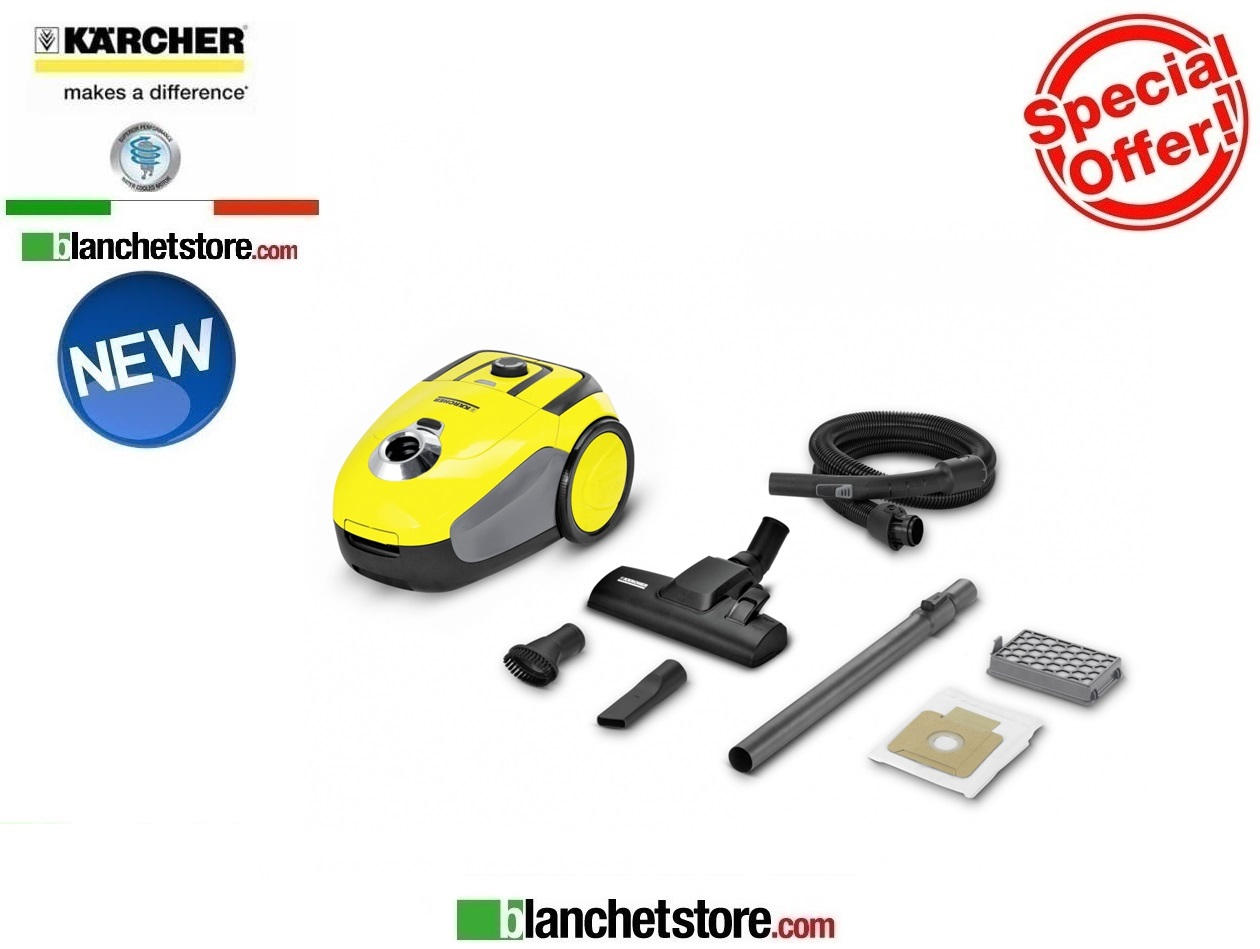 Aspirapolvere karcher VC 2 a traino 700W NEW MODEL