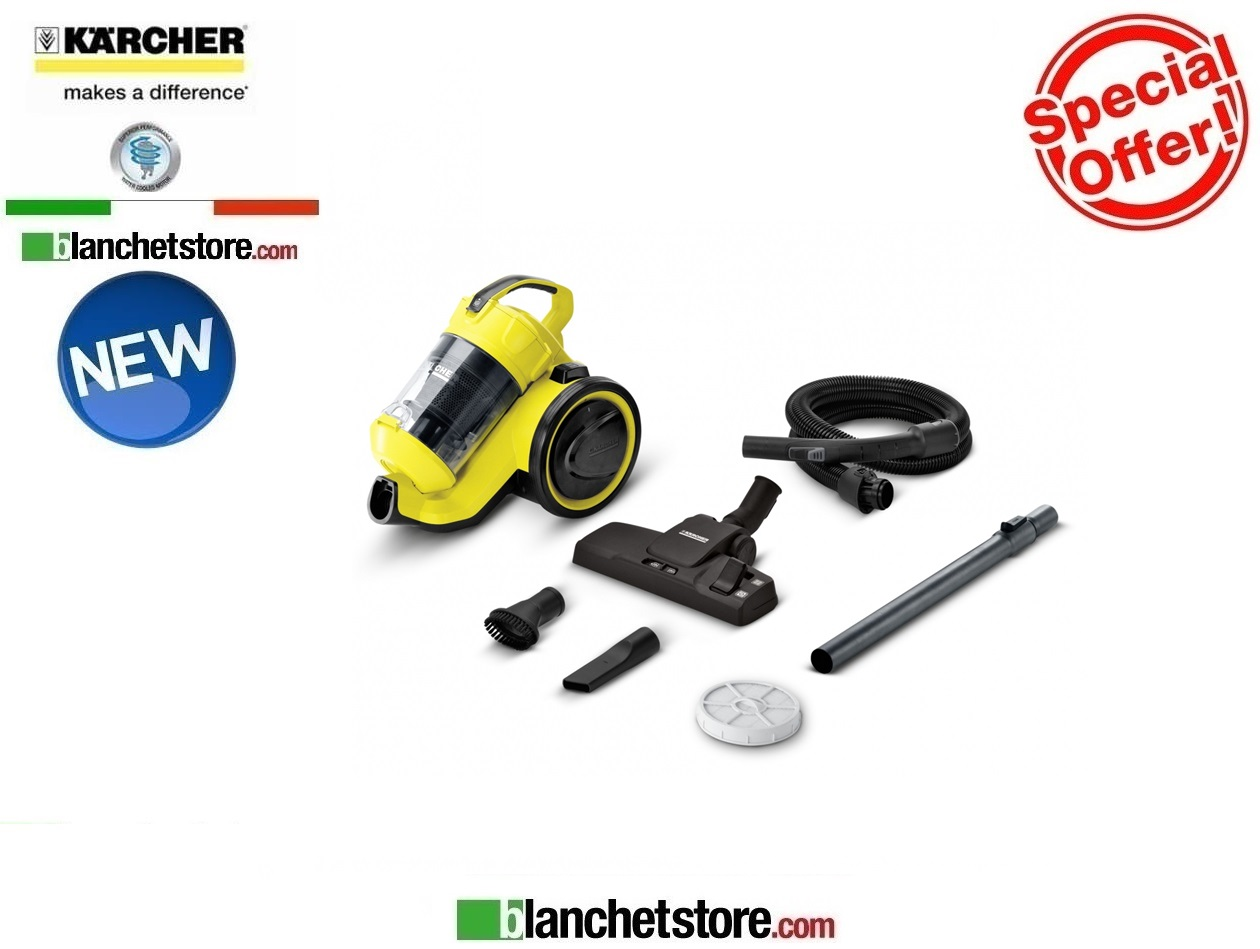 Aspirapolvere karcher VC 3 multiciclonico 700W NEW MODEL