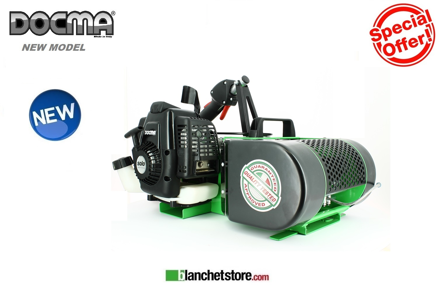 Verricello Forestale Forest Winch Docma VF155-AUTOMATIC+fune d.5